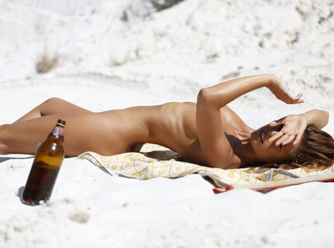 Model Marisa Papen photographed by Ana Dias for Playboy