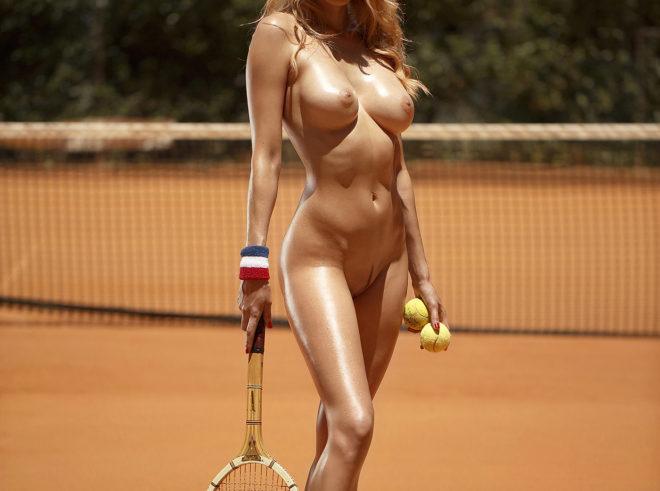 Model Olga De Mar photographed by Ana Dias for Playboy