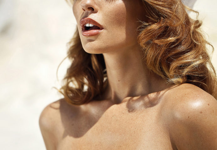 Model Valeria Lakhina photographed by Ana Dias for Playboy