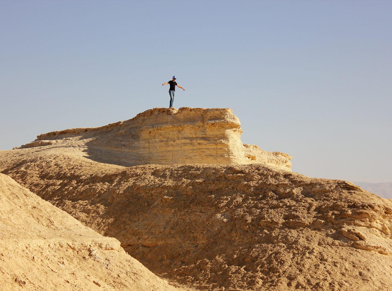 Playboy BTS in Judean Desert, Israel