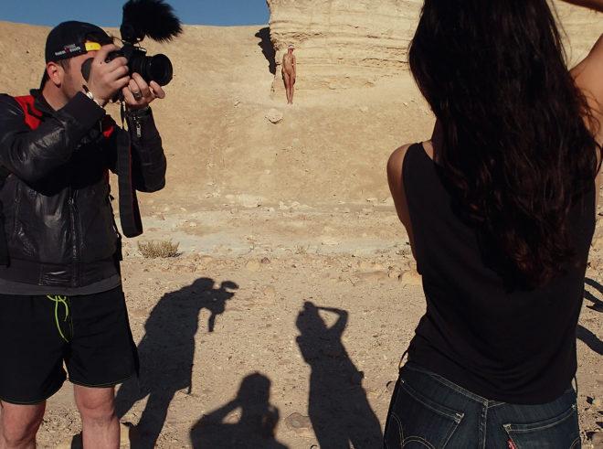 Ana Dias, Playboy photoshoot backstage