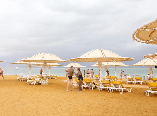 Dead Sea in Israel, Plaboy BTS