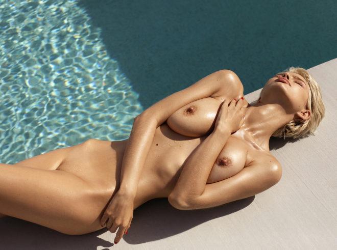 Playmate Julia Logacheva nude by Ana Dias for Playboy