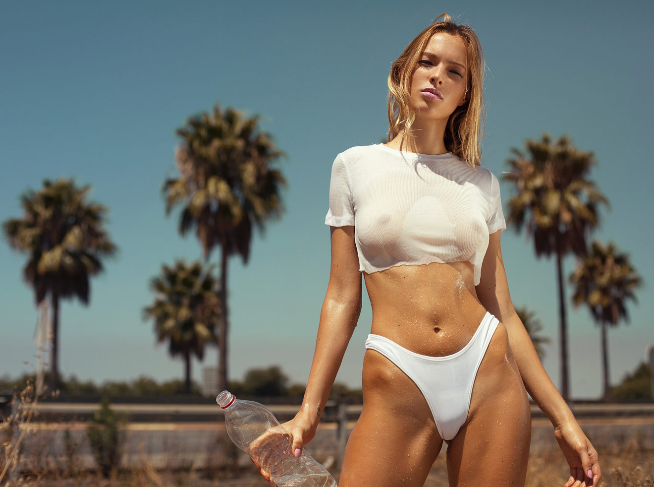 Ana Dias photoshoot for Playboy Abroad with Hellyda Cavallaro