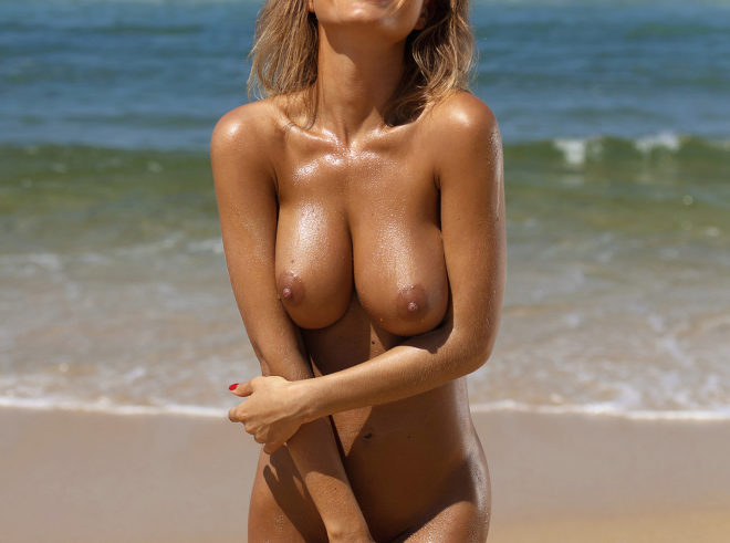 Natalia Andreeva photographed by Ana Dias for Playboy