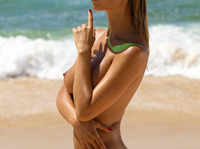 Natalia Andreeva nude for Playboy magazine by the photographer Ana Dias