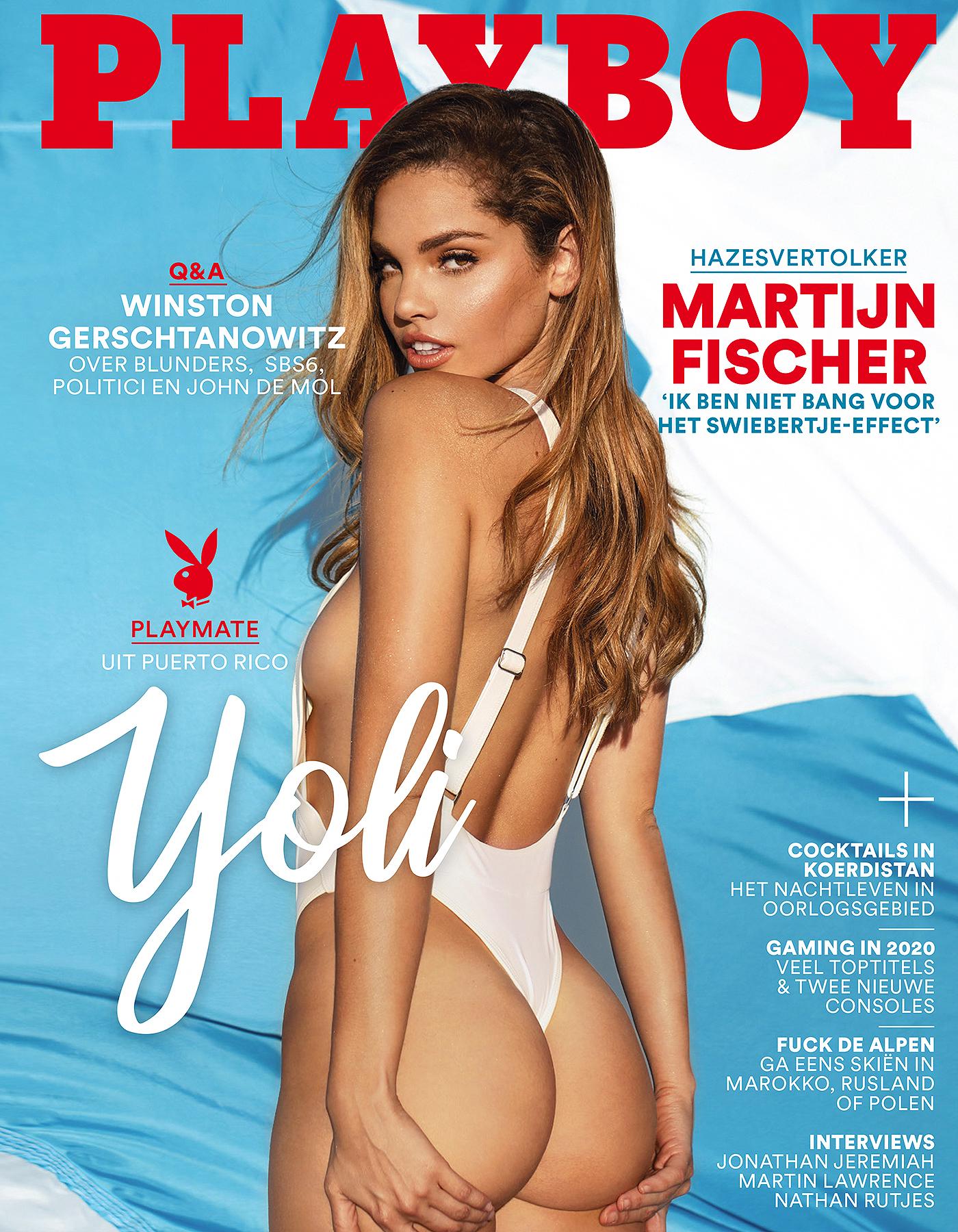 Ana Dias Playboy cover - Yoli Lara
