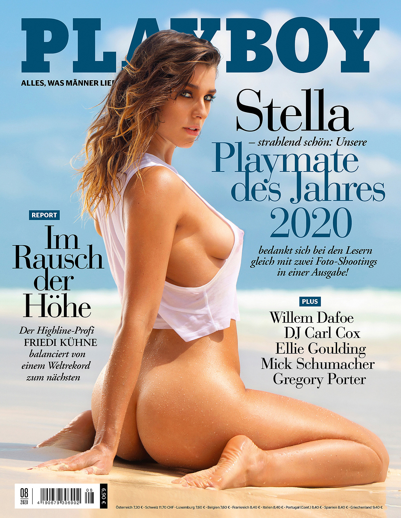 Pmoy 2020 Stella Stegmann by the photographer Ana Dias for Playboy Germany